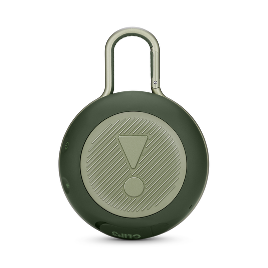 JBL CLIP 3 - Forest Green - Portable Bluetooth® speaker - Back