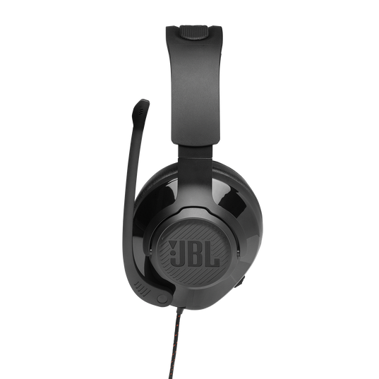 JBL Quantum 200 - Black - Wired over-ear gaming headset with flip-up mic - Detailshot 4