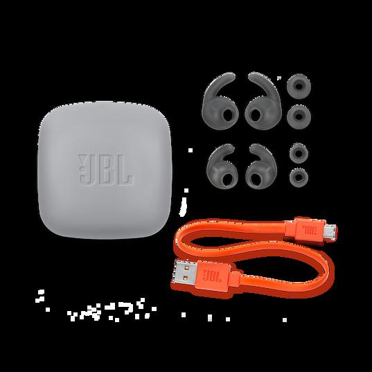 JBL Reflect Contour 2 - Blue - Secure fit Wireless Sport Headphones - Detailshot 3