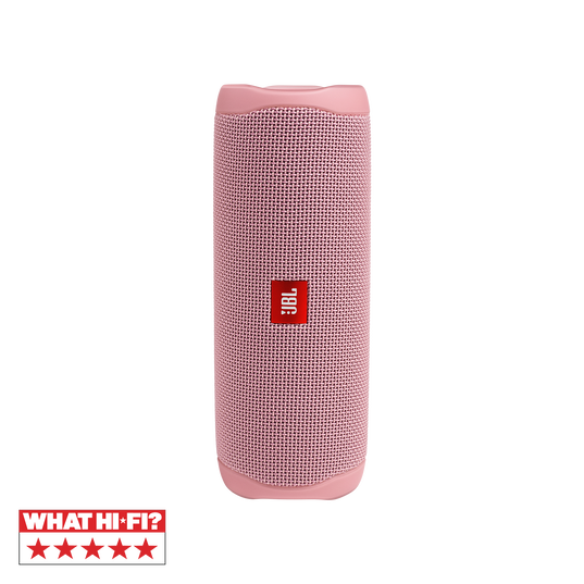 JBL FLIP 5 - Pink - Portable Waterproof Speaker - Hero
