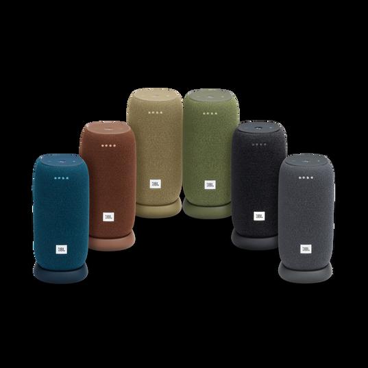 JBL Link Portable - Blue - Portable Wi-Fi Speaker - Detailshot 3