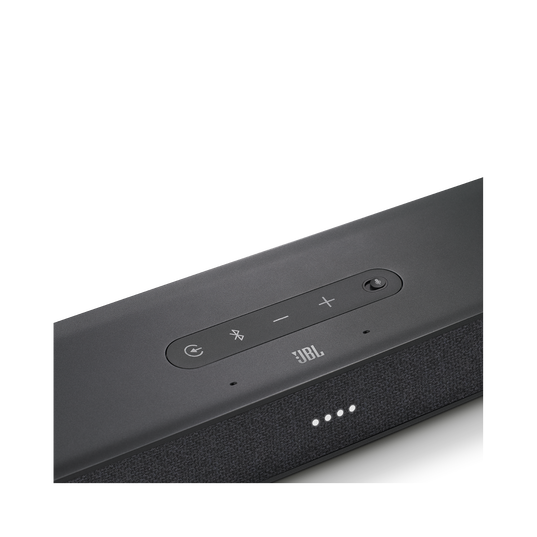 JBL LINK BAR - Grey - Voice-Activated Soundbar with Android TV and the Google Assistant built-in - Detailshot 2