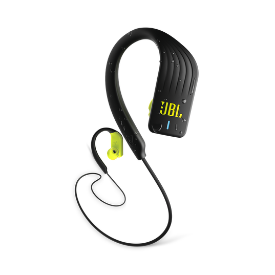 JBL Endurance SPRINT - Yellow - Waterproof Wireless In-Ear Sport Headphones - Hero