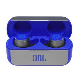JBL Reflect Flow - Blue - Waterproof true wireless sport earbuds - Hero