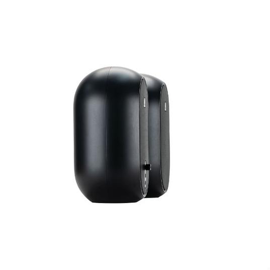 JBL 104 (Pair) - Black - Compact Powered Desktop Reference Monitors - Detailshot 15