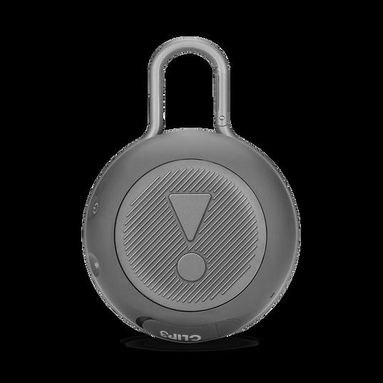 JBL CLIP 3 - Stone Grey - Portable Bluetooth® speaker - Back