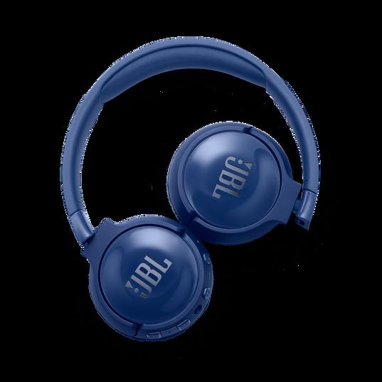 JBL TUNE 600BTNC - Blue - Wireless, on-ear, active noise-cancelling headphones. - Detailshot 4