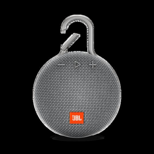 JBL CLIP 3 - Stone Grey - Portable Bluetooth® speaker - Front