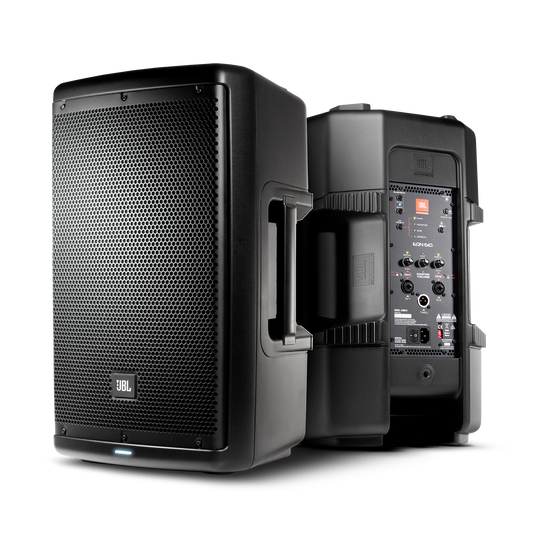 "JBL EON610 - Black - 10"" (25 cm) Two-Way Multipurpose Self-Powered Sound Reinforcement - Hero"