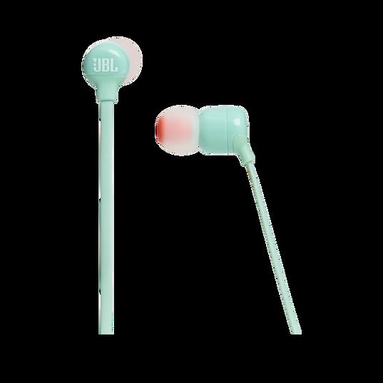 JBL TUNE 110BT - Green - Wireless in-ear headphones - Detailshot 3