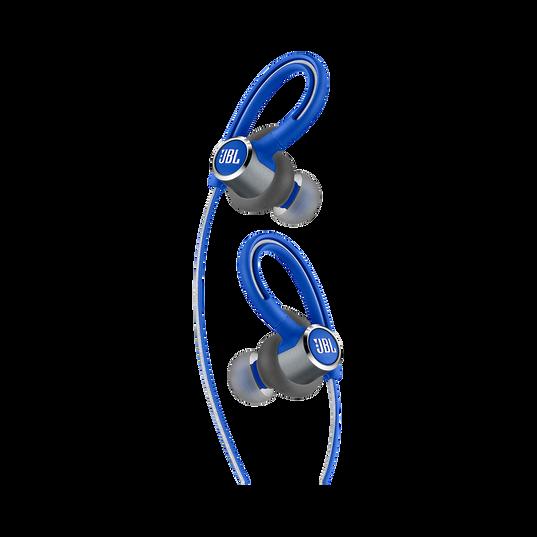 JBL Reflect Contour 2 - Blue - Secure fit Wireless Sport Headphones - Detailshot 1