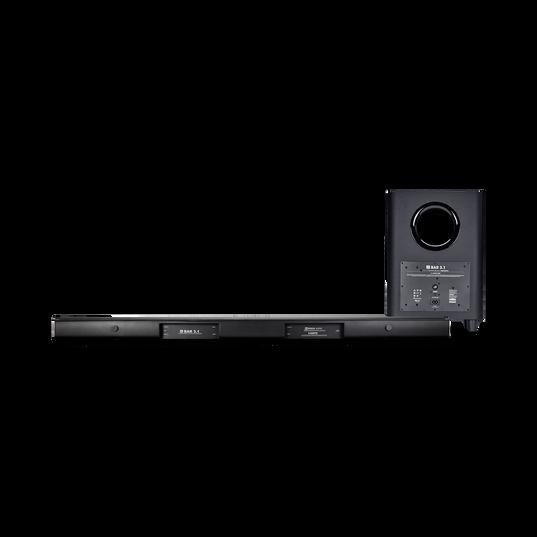 JBL Bar 3.1 - Black - 3.1-Channel 4K Ultra HD Soundbar with Wireless Subwoofer - Back
