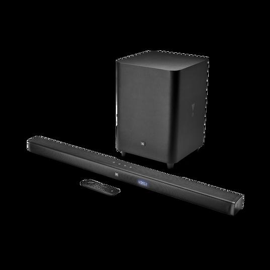 JBL Bar 3.1 - Black - 3.1-Channel 4K Ultra HD Soundbar with Wireless Subwoofer - Hero