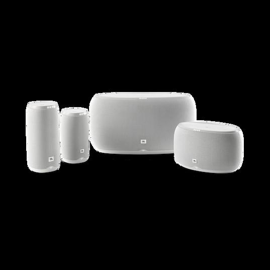 JBL Link 500 - White - Voice-activated speaker - Detailshot 2
