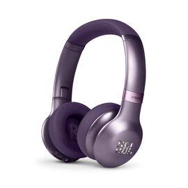 JBL EVEREST™ 310 - Purple - Wireless On-ear headphones - Hero