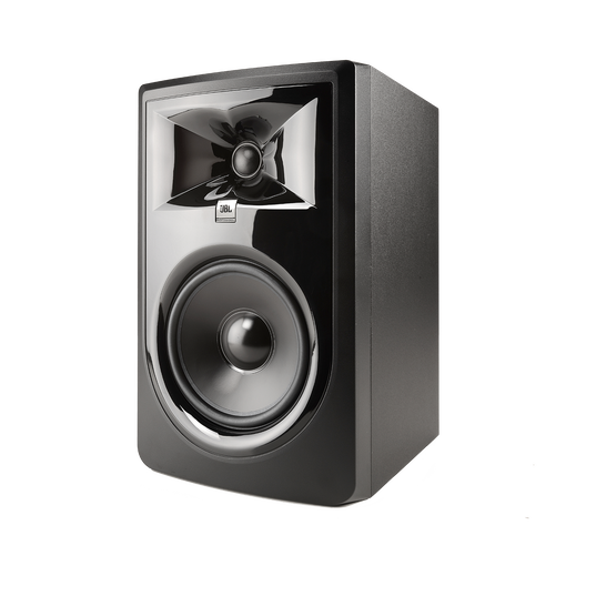"JBL 306P MkII - Black - Powered 6"" (15.24 cm) Two-Way Studio Monitor - Hero"