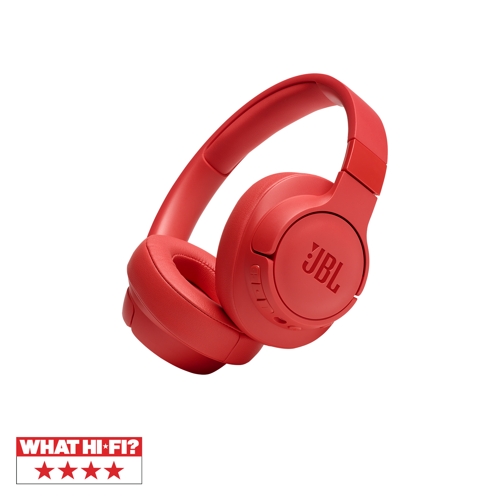 JBL TUNE 750BTNC - Coral Orange - Wireless Over-Ear ANC Headphones - Hero